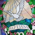 Stained Glass Window - Baptism