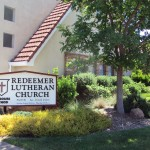 Front of Redeemer Lutheran Church