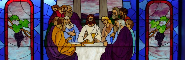 Stained Glass Window - The Last Supper