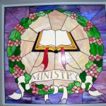 Stained Glass Window - Ministry