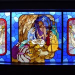 Stained Glass Window - The Nativity